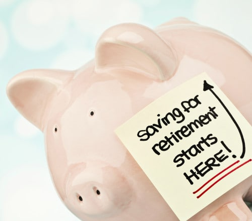 Saving for retirement starts here!