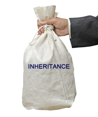 Inheritance or unexpected windfall