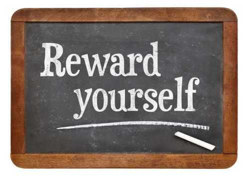 Reward your progress. Update your budget each week – and reward yourself with a low-cost treat.