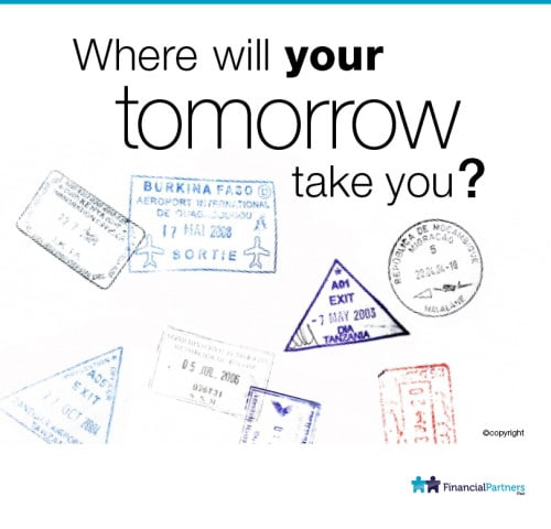 Where will your tomorrow take you?