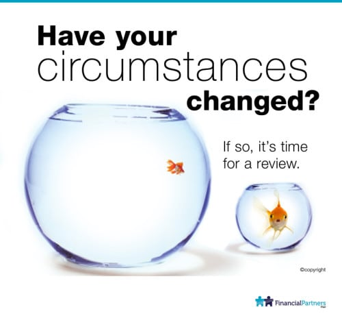 Changed circumstances.....Times for a review.