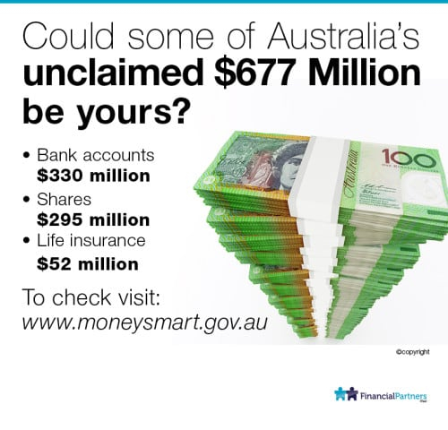 Could some of Australia's unclaimed $677 Million be yours?