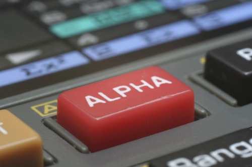 The search for alpha