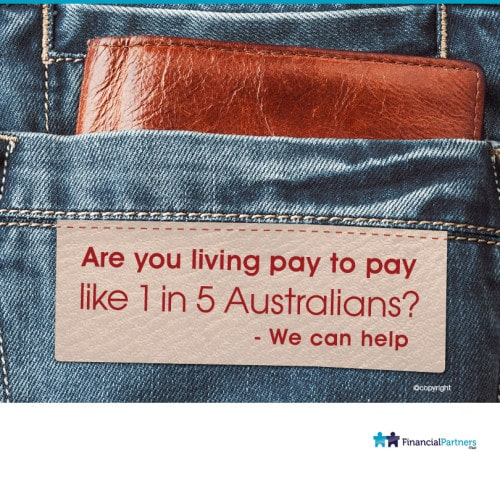 Are you living pay to pay like 1 in 5 Australians - W can help