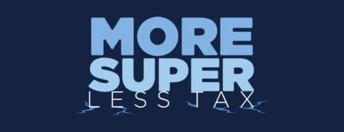 More Super LESS Tax