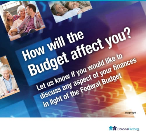 The Budget. What does it mean for you?