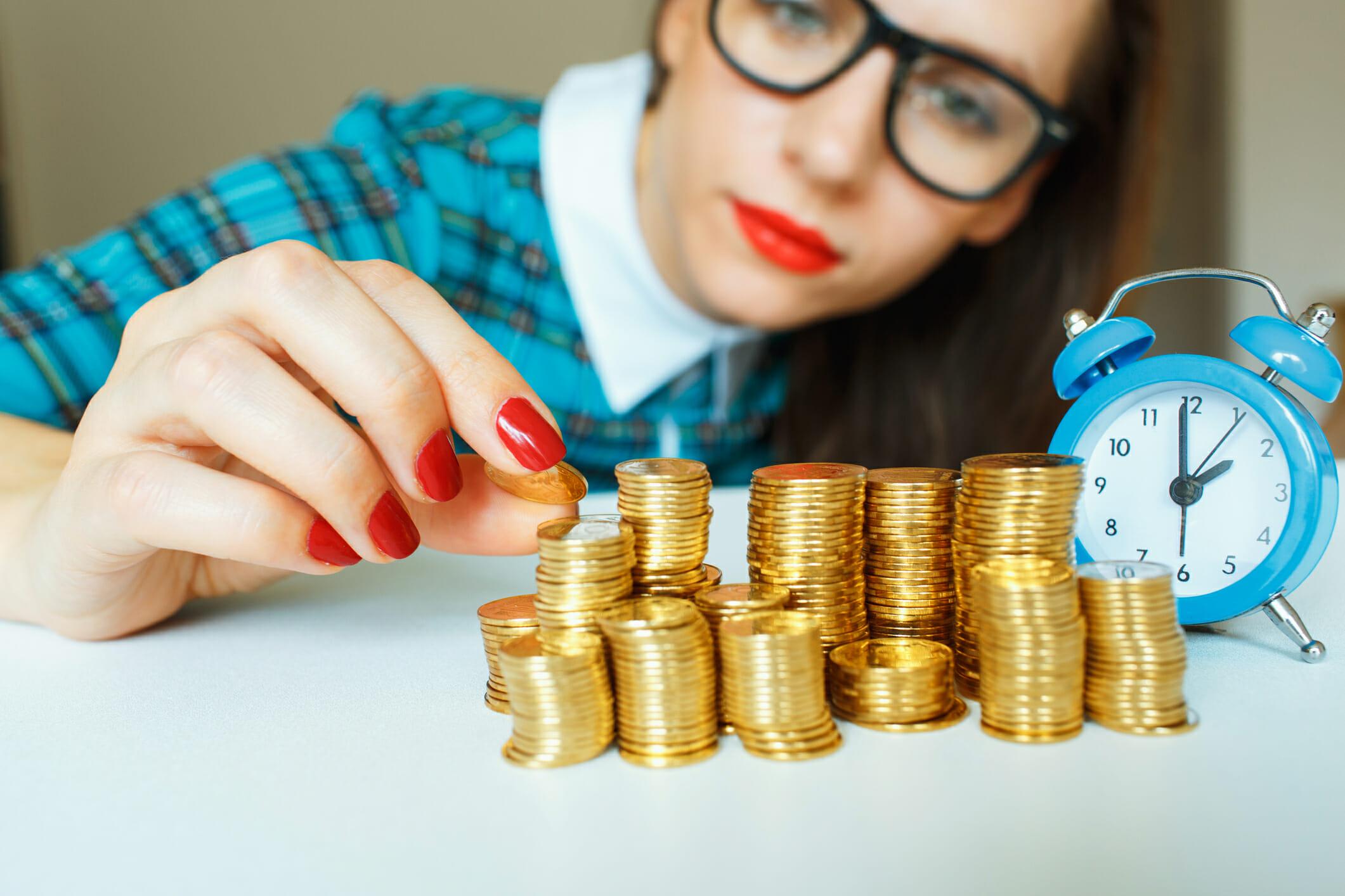 Simple money steps for women