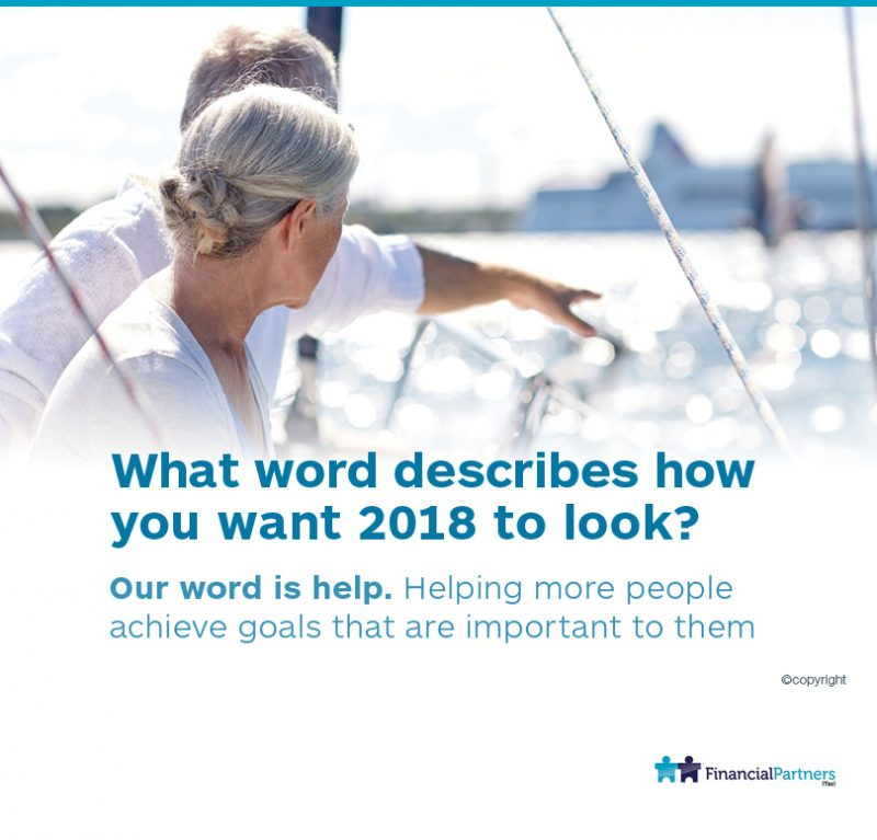 What word describes how you want 2018 to look?