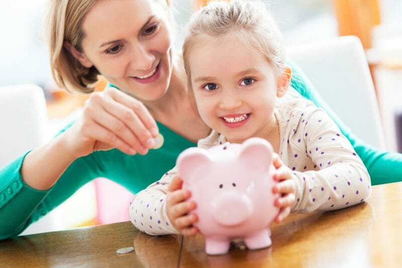Old and new money lessons for kids