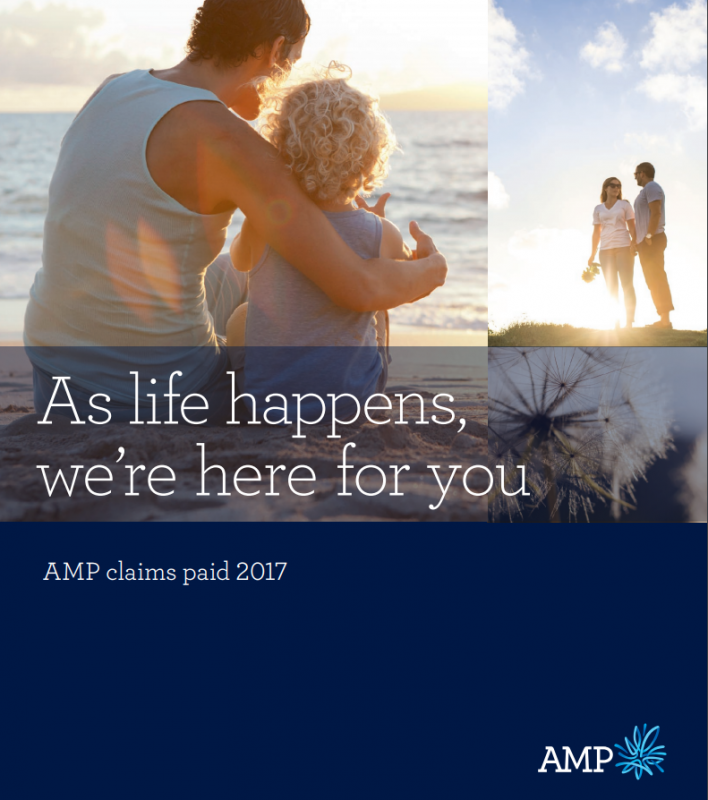 AMP Claims paid 2017