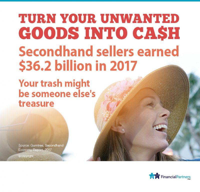 Turn your unwanted goods into cash