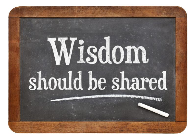Sharing financial wisdom between the generations