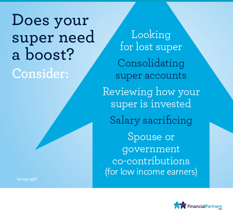 Does your super need a boost?