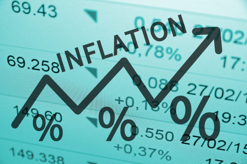 What happened to all the worries about rising inflation & bond yields?