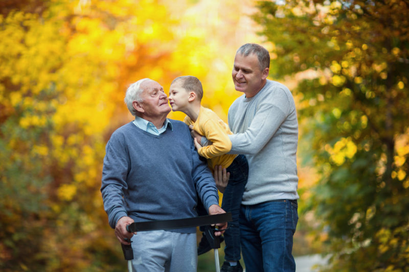 Role-reversal: When parents are relying on you