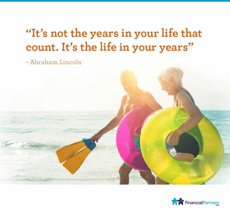 """""""It's not the years in your life that count. It's the life in your years"""" ~ Abraham Lincoln"""