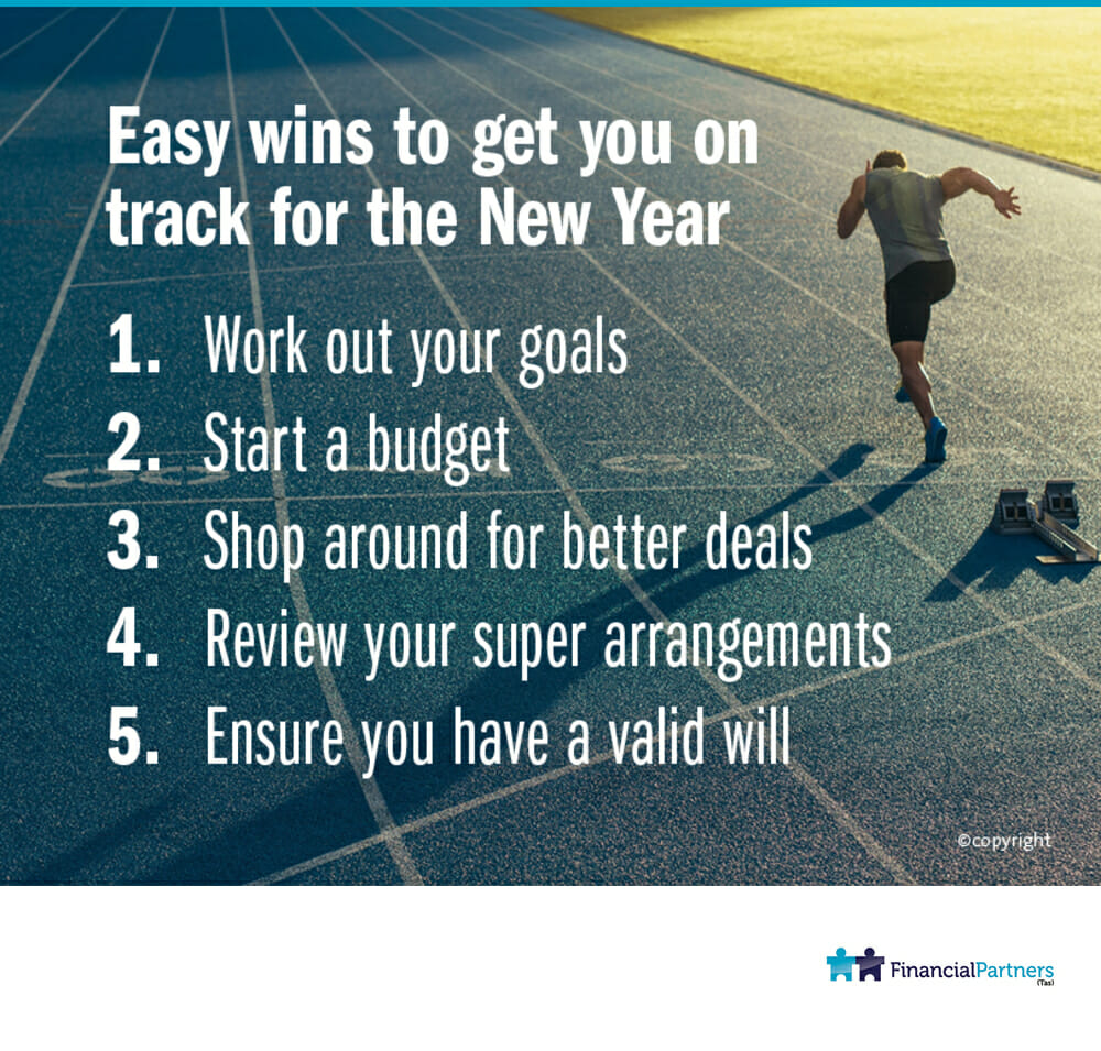 Easy wins to get you on track for the New Year