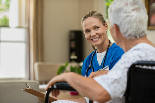 Most older Aussies prefer home care over a nursing home