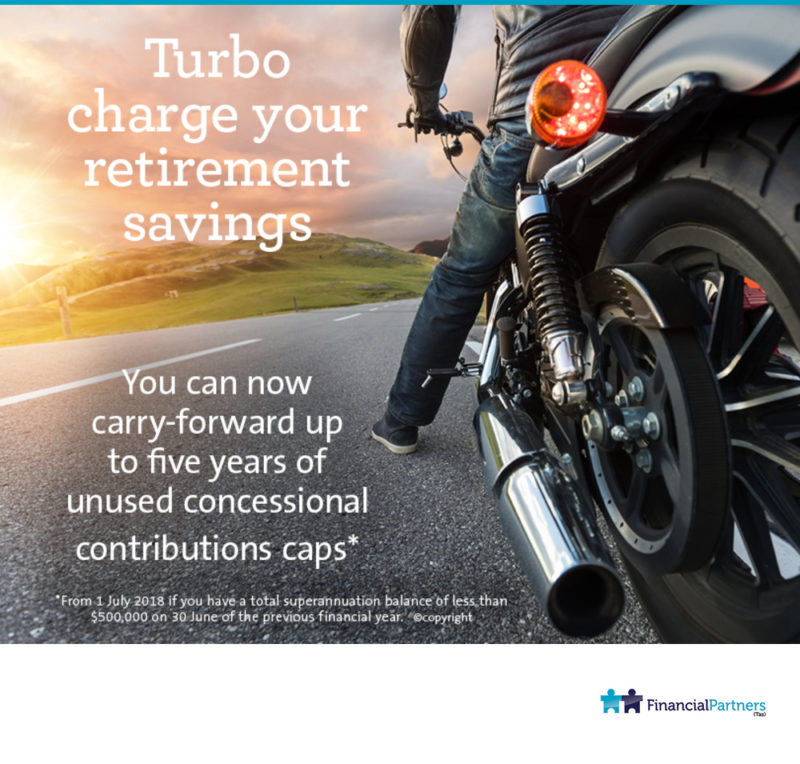 Turbo charge your retirement savings