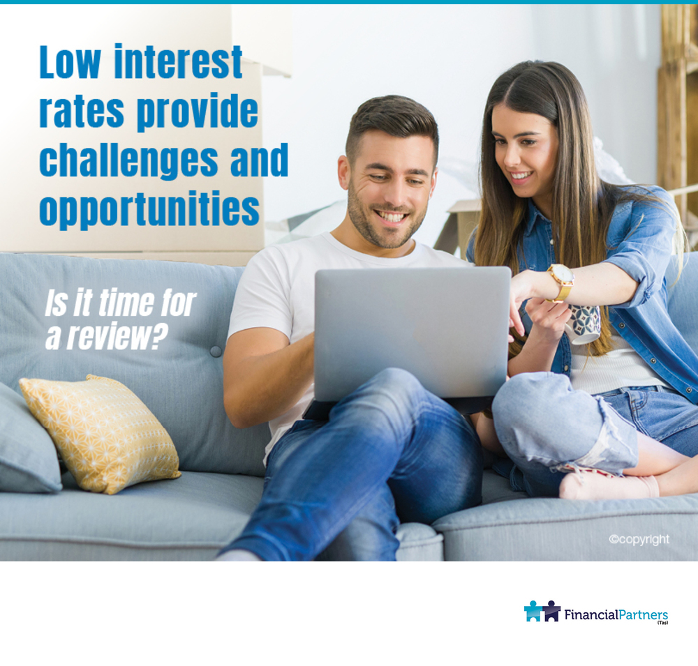 Low interest rates provide challenges and opportunities