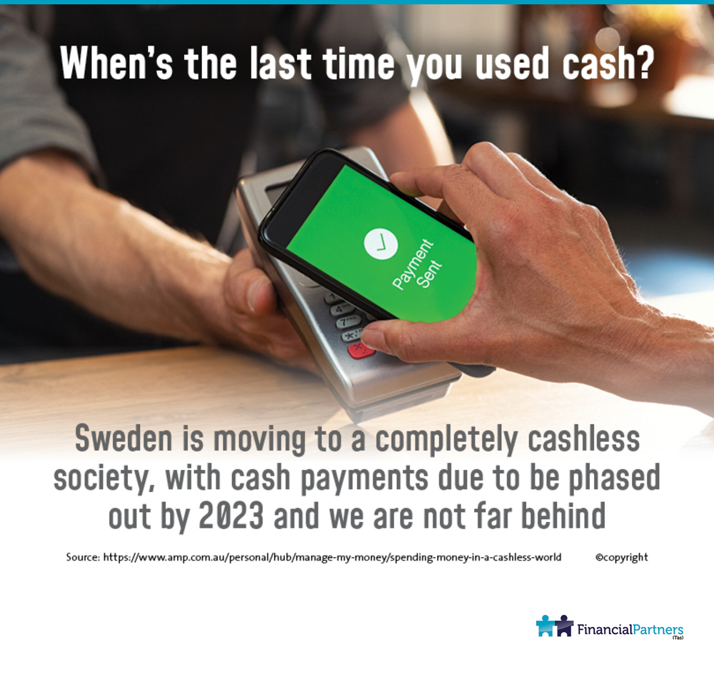When's the last time you used cash?