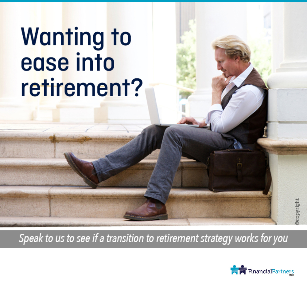 Wanting to ease into retirement?