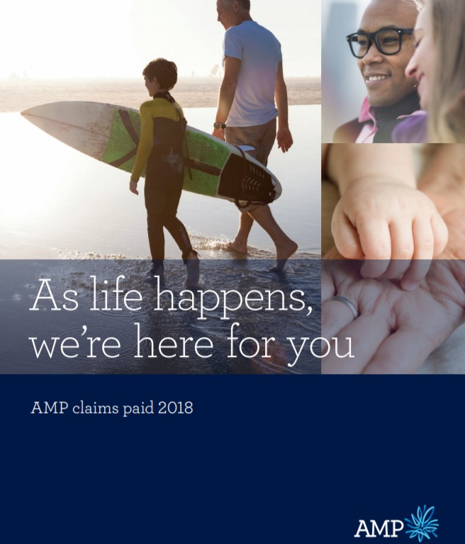 AMP Claims Paid 2018
