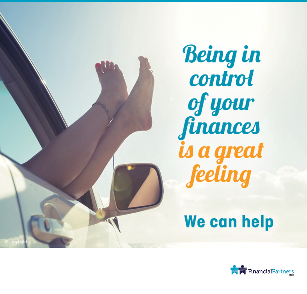 Being in control of your finances is a great feeling