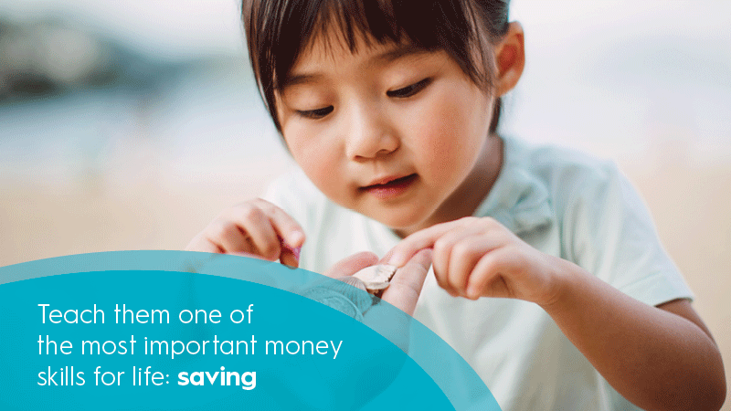 Money Saving Mindset  – How to encourage a money-saving mindset in your kids