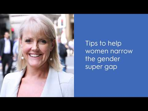AMP tips to help narrow the gender super gap