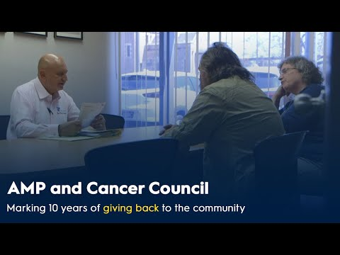 10 years of AMP financial advisers supporting cancer patients and their families